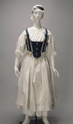 National dress, 18th-19th century, Czechoslovakia.