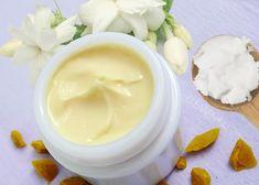 Téli krém száraz arcbőrre - Kozmetikai receptek, kozmetikum receptek Herbs, Skin Care, Homemade, Healthy, Ethnic Recipes, Desserts, Candle, Diy, Magic