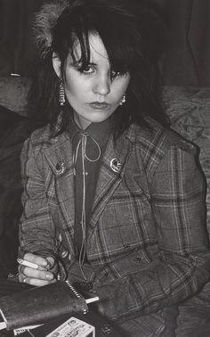 Derek Ridgers' London Youth, Siobhan, Bowie Night at Billy's, 1978