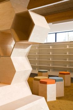 Gallery - New Public Library Zoersel / OMEGEVING Architecture - 14