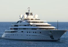 Topaz is the fifth largest yacht in the world at 147.25m. She was launched in May 2012 when she emerged from her shed at the Lürssen yard. Very little is known about the motor yacht although she is the third largest yacht to be launched by the German yard. Click the image to see her full specs. #WeKnowYourHydraulics