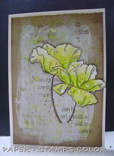 Inkerbell Stamps™ Design Team: Bloemen bloeien in de lente..