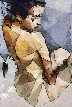 The seated woman of Bedroom Art from $29.99 | www.wallartprints.com.au #BedroomWallArt
