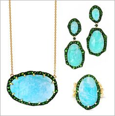 TEAL TREASURES THAT WILL TURN HEADS Introducing The Lenox Collection By Phillips House | The Zoe Report