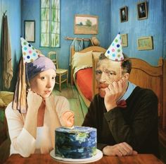 """""""There may be a great fire in our soul, yet no one ever comes to warm himself at it, and the passers-by see… Happy Birthday Meme, Happy Birthday Messages, Happy Birthday Images, Happy Birthday Greetings, Birthday Pictures, Birthday Humorous, Birthday Sayings, Sister Birthday, Johannes Vermeer"""