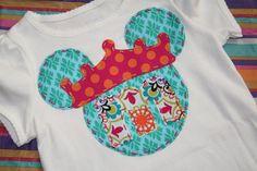 Minnie Mouse Princess Shirt - Disney Vacation Apparel