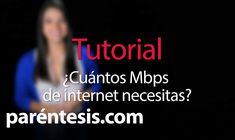 ¿Cuántos megas de Internet necesito? Comprar en línea es más Barato!! Visítenos http://tvmundodigital.com/tv-y-video.html