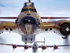 B-17 & B-24 (This is a great photo)