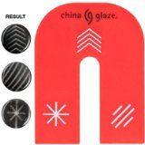 China Glaze Magnetix Magnet - 3 Designs - #nails #nailbling #nailpolish #nailpolishset -   China Glaze magnetic magnet used with the Magnetix Collection with three magnetic designs on one magnet. Star, Arrow and Lines.  with three magnetic designs on