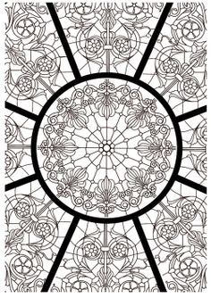 I love thaneeya mcardle 39 s artwork free abstract pattern - Coloriage art therapie a imprimer ...