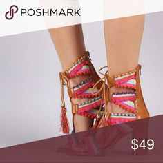 Beautiful and colorful festive shoes These are a sight for sore eyes! Shoes