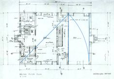 Louis Kahn ~ Esherick House ~ Second Floor Plan ~ Philadelphia, Pennsylvania ~ ca, 1961 Esherick House, Formal Analysis, Louis Kahn, Making Space, Architecture Plan, House In The Woods, Second Floor, House Plans, Diagram