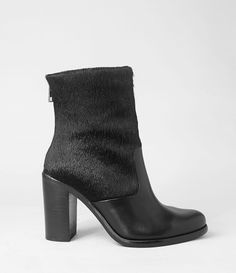 AllSaints High Hessian Mix Boot | Womens Boots