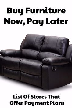 Buy Furniture Now, Pay Later With Stores Offering Deferring Billing