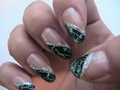 63 Besten Crackle Nail Polish Nail Art Gallery By Nded Bilder Auf