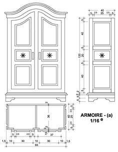 PLANS - maison de poupйe - vitrines miniatures