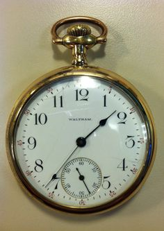 Pocket Watch - Waltham 16S 15j from 1906