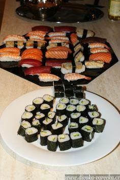 Sushi | Divoká vařečka Sushi, Ethnic Recipes, Food, Meals, Yemek, Eten