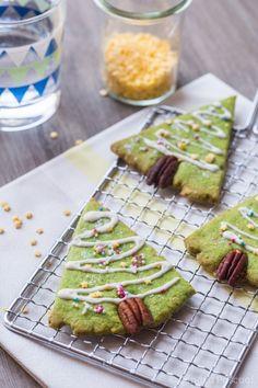 Biscuits Sapin aux Noix de Pécan