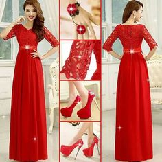 # WOMEN'S FASHION IN RED