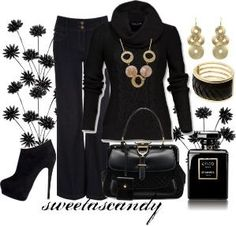 Classic Black by sweetlikecandycane on Polyvore b