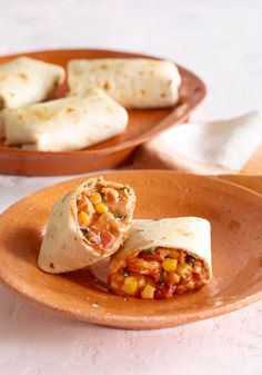 Tex-Mex Tortilla Pockets -- Stuffed with all the Tex-Mex flavors you love, this recipe is easy to make (just 15 minutes prep!) and guaranteed to please.