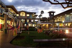 Whaler's Village in Ka'anapali, Maui, Hawaii.... great restaurants and shopping with a beautiful ocean view!