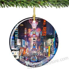 Remember your amazing time in New York City and Times Square with this Porcelain Christmas Ornament to be cherished for a lifetime (http://www.nycwebstore.com/times-square-porcelain-christmas-ornament/)