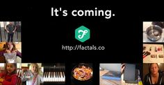 I can't wait for the launch of this site!  You can get on the list now by going to http://factals.co