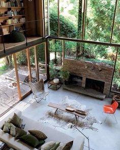 Окна в пол-это потрясающе!!!!!! Wall-sized windows - it's awesome!!!!!!#funkdesign#funk#design#deco#arhitecture#furniture#kids#interiors#furniture#homedesign#style#decorating#landscapedesign#мебель#интерьер#архитектура#детская#цвет#дизайн#дизайнмебели#декор#стиль#ландшафтныйдизайн by funkdesign http://discoverdmci.com