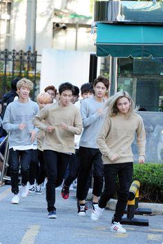 151002 SEVENTEEN arriving at Music Bank by KpopMap #musicbank, #kpopmap, #kpop…