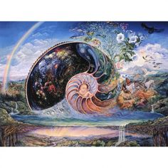 Nautilus Greeting Card (New Baby) by Josephine Wall  http://www.holisticshop.co.uk/products/nautilus-greeting-card