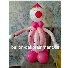 #clown #birthday #present #balloon @ballon-dekotainment