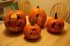 2011 - Shaun the Sheep and friends Amazing Pumpkin Carving, Pumpkin Carvings, Shaun The Sheep, Sheep And Lamb, A Pumpkin, Lambs, Trick Or Treat, Biscuits, Appreciation