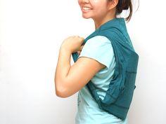 How to Make a Backpack out of a Sweatshirt -- via wikiHow.com