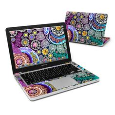 MacBook Pro 13in Skin - Mehndi Garden by Ancient ArtiZen | DecalGirl
