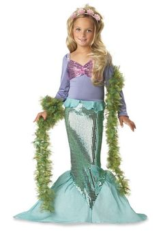 BG Child Mermaid Costume