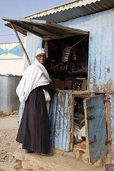 Eritrea. The dukwan/corner-store