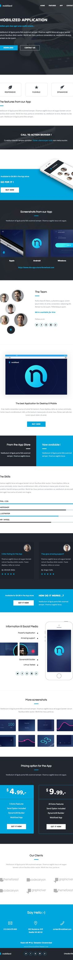 Spiritapp Responsive Email Template With Builder Downloads