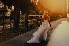 bride in the light