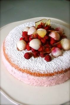 Raspberry~Lychee Cheesecake ~ WOW!!! this is so completely different.....