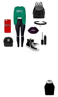 """""""Untitled #2"""" by relu-a on Polyvore featuring Converse, Witchery, Betsey Johnson, Marc Jacobs and adidas"""