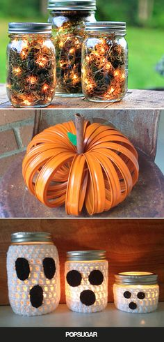 20 Spooky, Spectacular Ways to Decorate With Mason Jars This Halloween