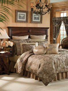 Botticelli by Croscill..... I love bedding by Croscill. I've had our bedding set for 15 years. It's so worth the money!!
