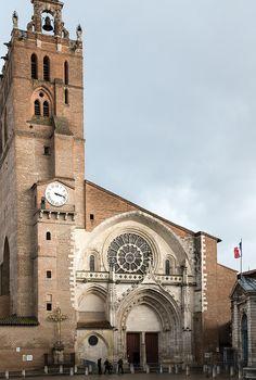 Cathédrale Saint Etienne de Toulouse (Haute-Garonne, France)
