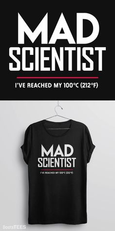 Mad Scientist T-Shirt for the March for Science to be worn by the resistance to protest trump and resist.