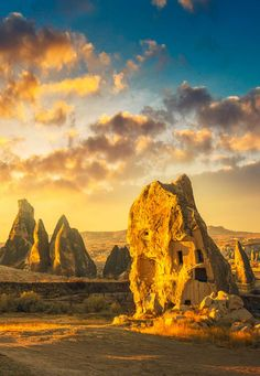Cappadocia in Turkey is a wonderful destination filled with wonder and magic. Filled with carved dwellings known as Fairy chimneys, this truly is a magical place not just to see, but to experience in all its glory. Visit Turkey this summer @turkeyhome. Or visit HomeTurkey.com. Go on your great #TurquoiseHunt