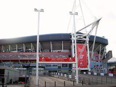 Millennium Stadium - Cardiff Millennium Stadium, Cardiff, Places Ive Been, Spaces