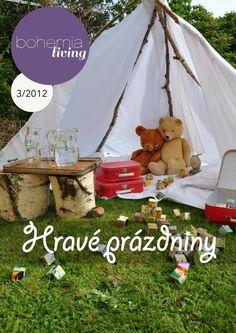 Bohemia Living 3 / 2012  Třetí, letní vydání časopisu Bohemia Living. Magazines, Bohemia, Journals