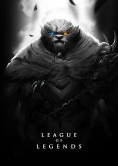 Nighthunter Rengar by wacalac on deviantART
